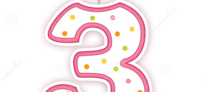 Buon terzo compleanno PN LUG