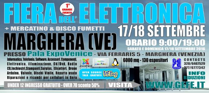 Il PN LUG alla Fiera dell'Elettronica dell'Expo Venice