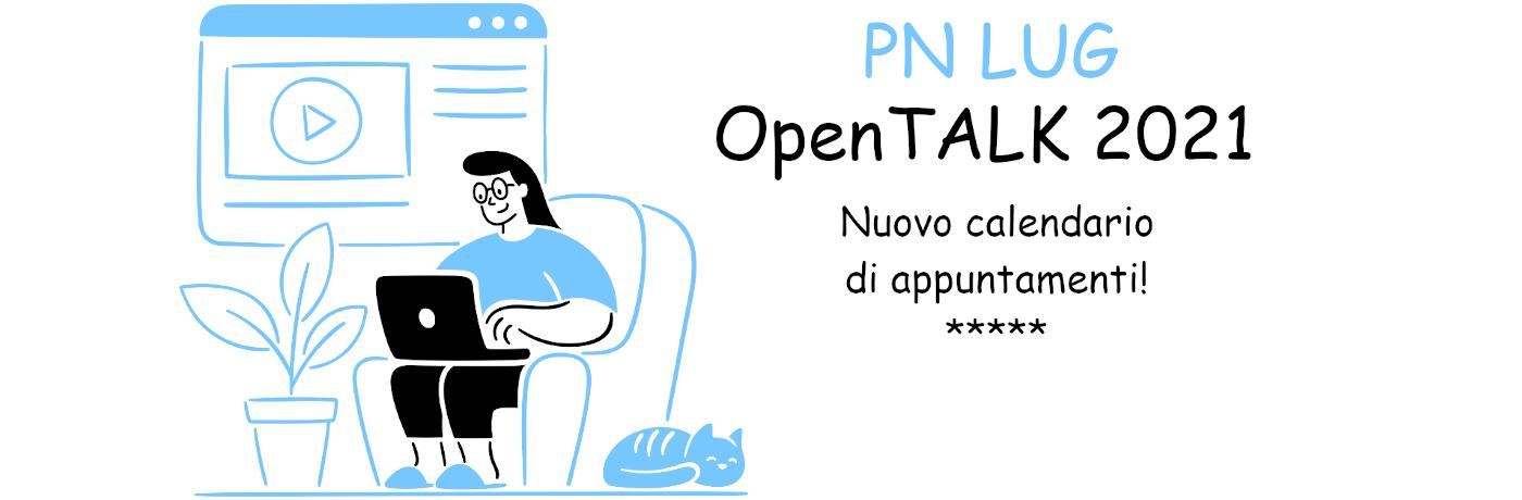 OpenTALK 2021 – Gli appuntamenti di Febbraio