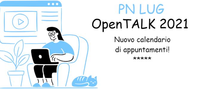 OpenTALK 2021 – Nuovo ciclo: Gli appuntamenti di Gennaio